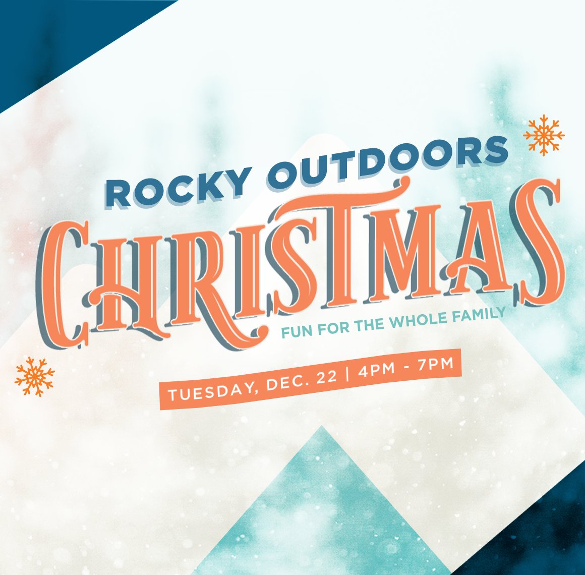 Rocky Outdoors Christmas